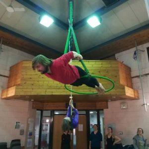 Adult aerial hoop