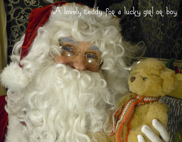 A lovely teddy for a lucky girl or boy