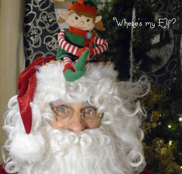 Santa where's the elf