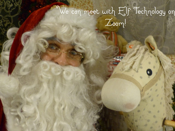 We can meet with Elf Technology on Zoom